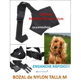 Bozal de nylon talla M