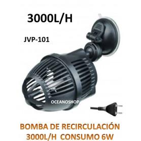 BOMBA RECIRCULACION de 3000L/h 6w Vibracion para Acuario Simulador de Olas