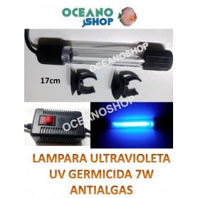 Lampara UV germicida 6w