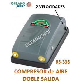 COMPRESOR DE AIRE 2 SALIDAS RS-338