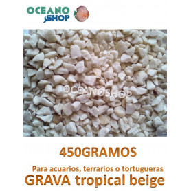 grava acuario barata sustrato plantas tropical beige 450GR