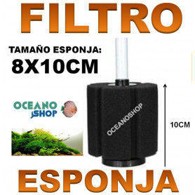 filtro esponja jeneca aleas acuario barato