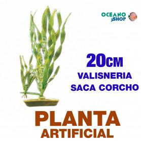 Plantas Plasticas Medianas 20cm MARINA - Valisneria