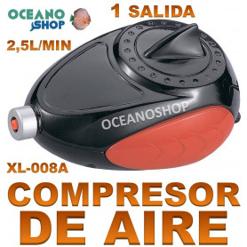 aireador xilong xl 008A compresor acuario 2,5 lmin