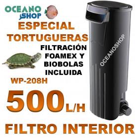 FILTRO INTERNO SOBO WP 208H 500LH tortugas tortuguera