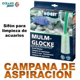 campana de aspiracion hobby sifon limpiafondos acuario