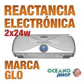 Reactancia Electronica 2 Tubos T5 GLO - 2x24w