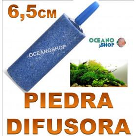 piedra difusora difusor acuario co2 o2 oxigeno compresor 6,5cm