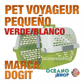 DOGITPETVOYAGEUR PequeñoVERDE/BLANCO