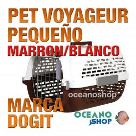 DOGITPETVOYAGEUR PequeñoMARRON/BLANCO