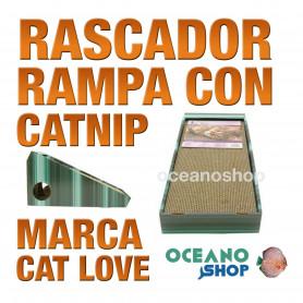 CAT LOVE Rascador Rampa con Catnip