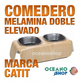 CATIT COMED. MELAMINA DOBLE ELEVADO  230 ml