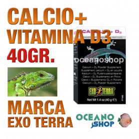 EXOTERRACALCIO+VITAMINAD3 40g