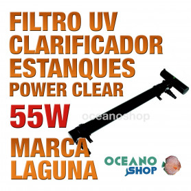 Filtros UV Clarificador Power Clear LAGUNA - 55w