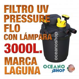 FILTRO PRESSURE FLO UV LAGUNA - 3000lts