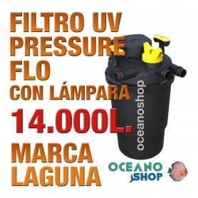 FILTRO PRESSURE FLO UV LAGUNA - 14000lts
