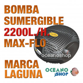 BOMBA MAX FLO SUMERGIBLE LAGUNA - 2200 l/h