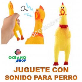 juguete pollo gallina sonido perro entretenimiento adiestramiento
