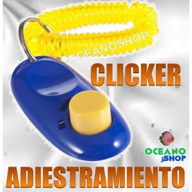 clicker iclicker adiestramiento educativo obediencia perro gato pajaro