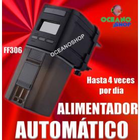 alimentador automatico grande eheim ff306 peces acuario escamas granulo