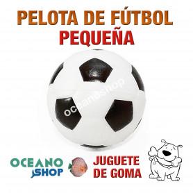 Pelota Fútbol de Goma Pequeña Perro Multicolor
