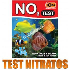 test ion no3 nitratos acuario agua dulce y salada marino