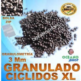 granulo granulado ciclidos gran tamaño grandes xl cichlid