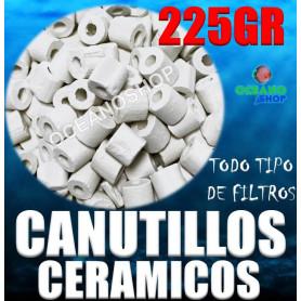 canutillos ceramicos ceramica bacterias filtro acuario pecera filtracion 225gr