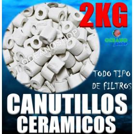canutillos ceramicos ceramica bacterias filtro acuario pecera filtracion 2kg