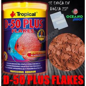 d-50 plus tropical flakes escamas rojas ciclidos cichlids a granel barato discos color