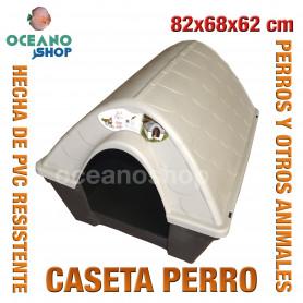 Caseta perros para exterior 82x68x62 cm
