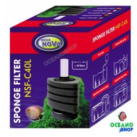 Filtro esponja NSF-C40 aqua nova