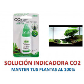 Solución Indicador nivel de CO2 drop checker