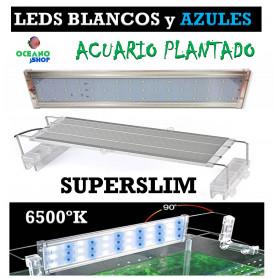 Pantalla led SUPERSLIM 60cm hasta 80cm 24W 2400LUMENES