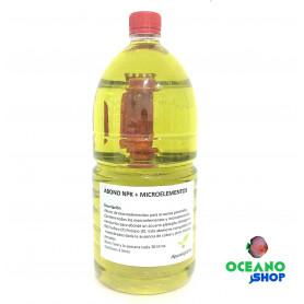 Abono npk + micros 2000 ml acuario