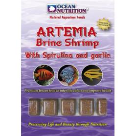 Artemia con espirulina y ajo ocean nutrition