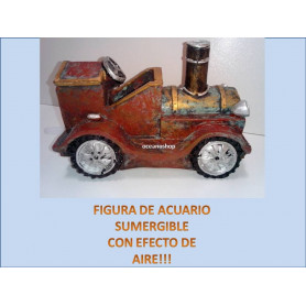 Coche retro figura decorativa