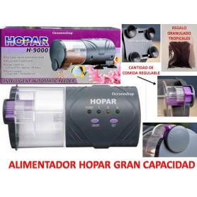 OFERTA 60GR COMIDA+Alimentador  HOPAR comedero automático