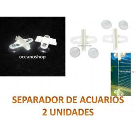 Separador acuario, división cristales 2uds