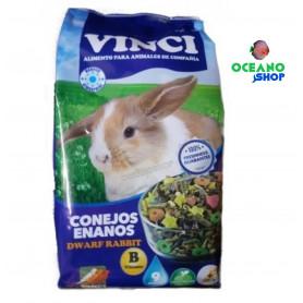 Vinci Alimento conejos enanos 1kg