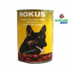 Rokus Perros pollo Lata 410gr