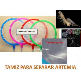 Tamiz para artemia