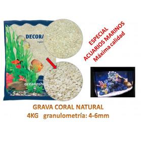 Grava coral natural Especial marino 4kg