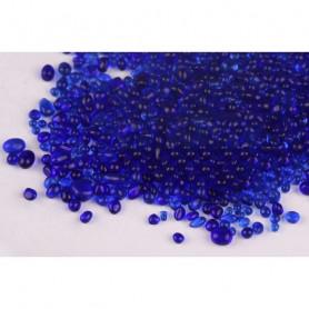 Grava cristal azul 500g