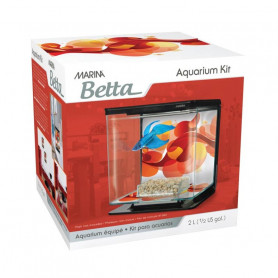 Kit Betta 2 litros MARINA Sun Swirl
