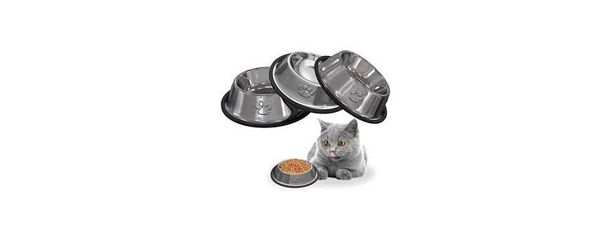 Comederos para gatos