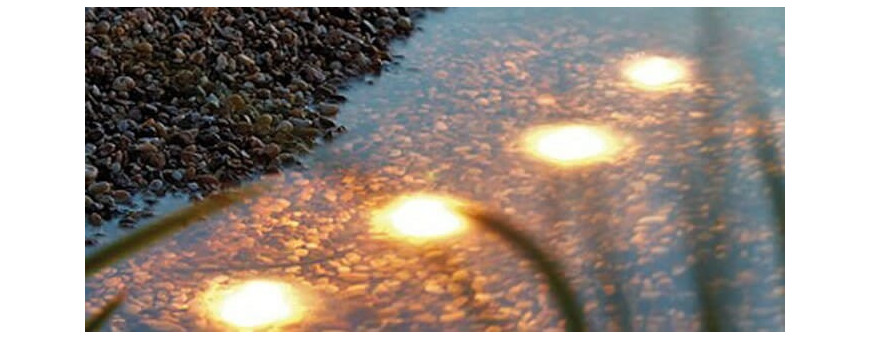 Iluminación para estanques